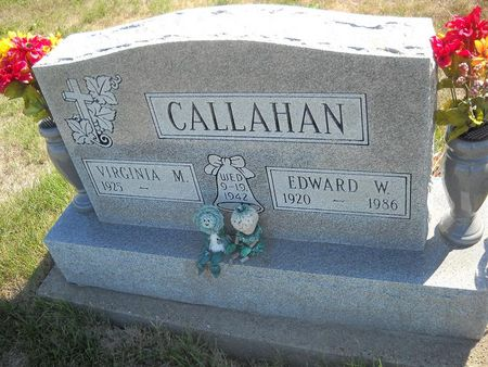 CALLAHAN, VIRGINA M - Lucas County, Iowa | VIRGINA M CALLAHAN