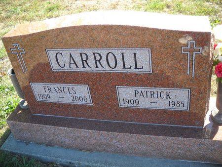 KEARNEY CARROLL, FRANCES - Lucas County, Iowa | FRANCES KEARNEY CARROLL