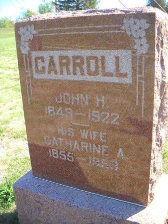 CARROLL, CATHERINE A - Lucas County, Iowa | CATHERINE A CARROLL