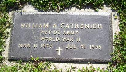 CATRENICH, WILLIAM A. - Lucas County, Iowa   WILLIAM A. CATRENICH