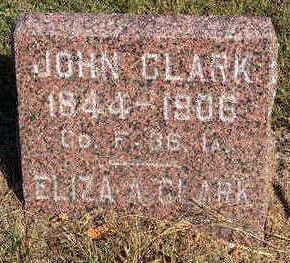 CLARK, JOHN - Lucas County, Iowa | JOHN CLARK