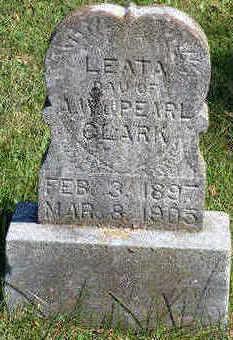 CLARK, LEATA FAY - Lucas County, Iowa | LEATA FAY CLARK