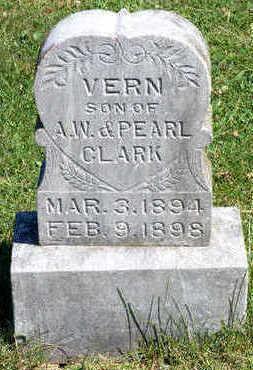 CLARK, VERN - Lucas County, Iowa | VERN CLARK