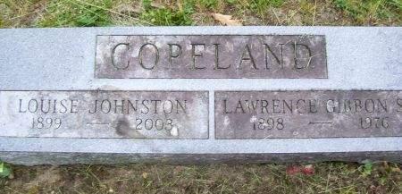 JOHNSTON COPELAND, LOUISE - Lucas County, Iowa | LOUISE JOHNSTON COPELAND