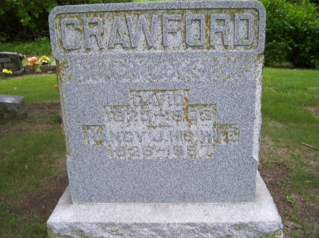 CRAWFORD, DAVID - Lucas County, Iowa   DAVID CRAWFORD