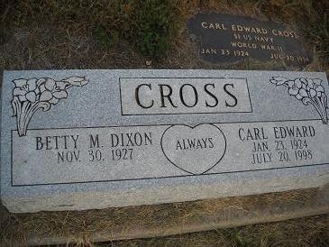 CROSS, BETTY M - Lucas County, Iowa | BETTY M CROSS