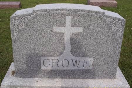 CROWE, FAMILY STONE - Lucas County, Iowa   FAMILY STONE CROWE