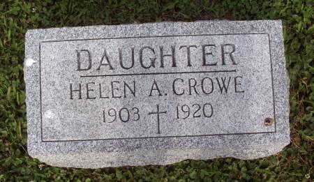 CROWE, HELEN A. - Lucas County, Iowa | HELEN A. CROWE