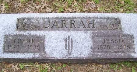 DARRAH, JESSIE - Lucas County, Iowa   JESSIE DARRAH