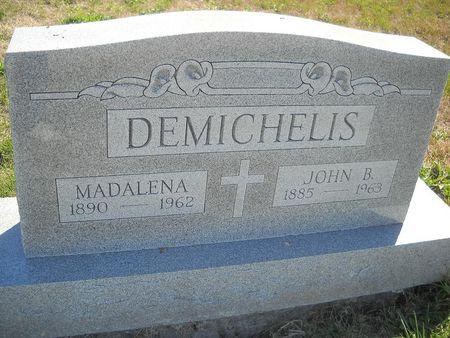 DEMICHELIS, JOHN B - Lucas County, Iowa | JOHN B DEMICHELIS