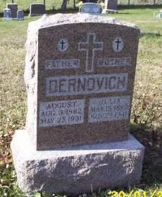 DERNOVICH, JULIA - Lucas County, Iowa   JULIA DERNOVICH