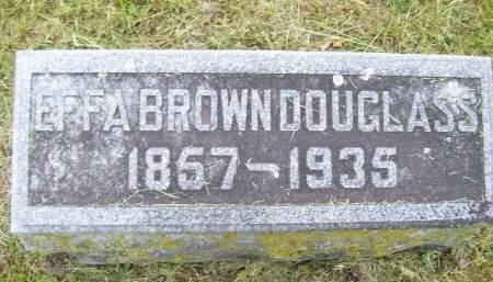 BROWN DOUGLASS, EFFA - Lucas County, Iowa | EFFA BROWN DOUGLASS