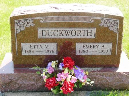 DUCKWORTH, EMERY A - Lucas County, Iowa | EMERY A DUCKWORTH
