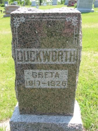 DUCKWORTH, GRETA - Lucas County, Iowa | GRETA DUCKWORTH