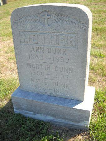 FITZPATRICK DUNN, ANN - Lucas County, Iowa   ANN FITZPATRICK DUNN