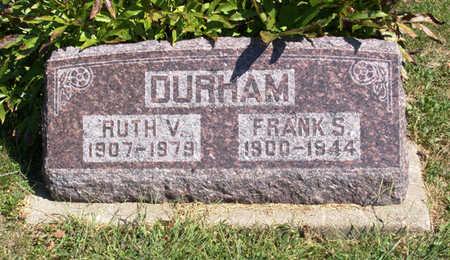 DURHAM, FRANK S. - Lucas County, Iowa   FRANK S. DURHAM