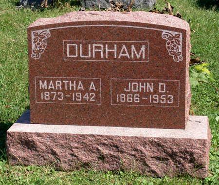 DURHAM, MARTHA A. - Lucas County, Iowa | MARTHA A. DURHAM