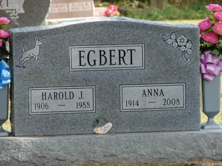 EGBERT, HAROLD J. - Lucas County, Iowa | HAROLD J. EGBERT