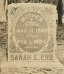 ERB, SARAH - Lucas County, Iowa | SARAH ERB