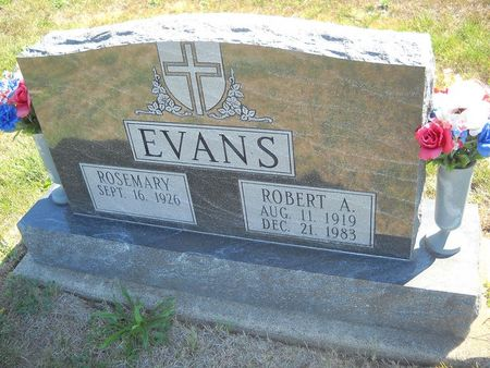 EVANS, ROBERT A - Lucas County, Iowa   ROBERT A EVANS