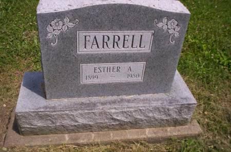 FARRELL, ESTHER AGNES - Lucas County, Iowa | ESTHER AGNES FARRELL