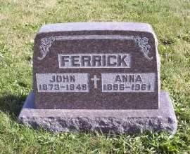 FERRICK, JOHN - Lucas County, Iowa | JOHN FERRICK