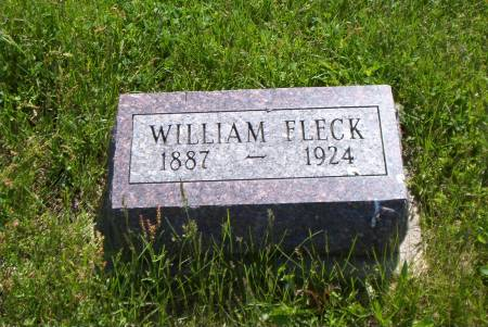 FLECK, WILLIAM - Lucas County, Iowa   WILLIAM FLECK