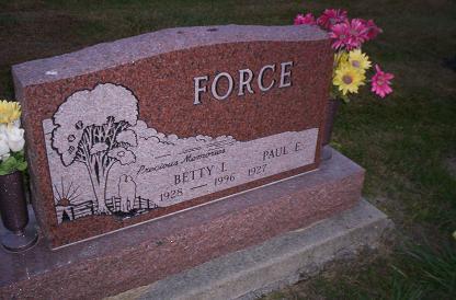 FORCE, PAUL E - Lucas County, Iowa   PAUL E FORCE