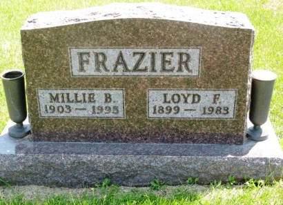 FRAZIER, LOYD F - Lucas County, Iowa | LOYD F FRAZIER