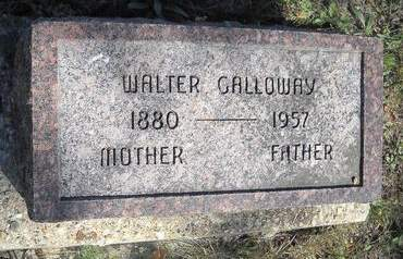 GALLOWAY, WALTER - Lucas County, Iowa   WALTER GALLOWAY