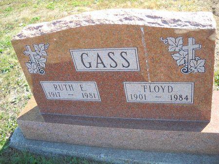 CLANIN GASS, RUTH E - Lucas County, Iowa   RUTH E CLANIN GASS