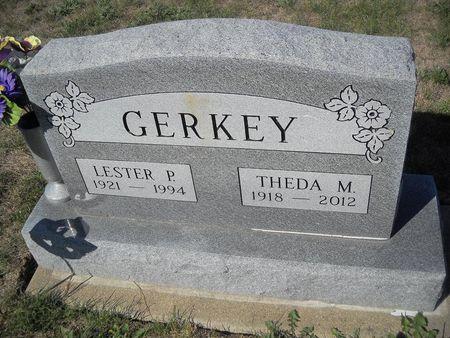 GERKEY, THEDA M - Lucas County, Iowa | THEDA M GERKEY