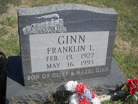 GINN, FRANKLIN L - Lucas County, Iowa | FRANKLIN L GINN