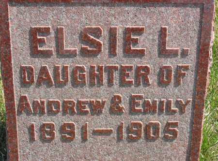 GRANVILLE, ELSIE L. - Lucas County, Iowa   ELSIE L. GRANVILLE