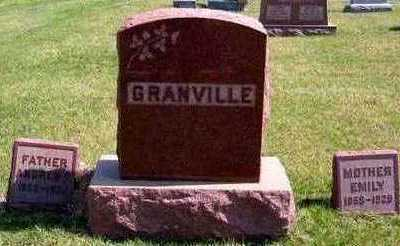 GRANVILLE, FAMILY - Lucas County, Iowa   FAMILY GRANVILLE