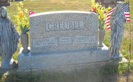 GREUBEL, MARTIN H - Lucas County, Iowa | MARTIN H GREUBEL