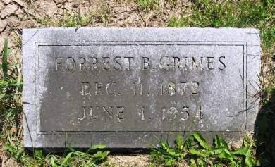 GRIMES, FORREST B - Lucas County, Iowa | FORREST B GRIMES