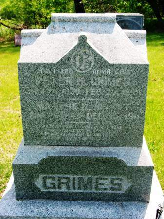 GRIMES, PETER H - Lucas County, Iowa | PETER H GRIMES