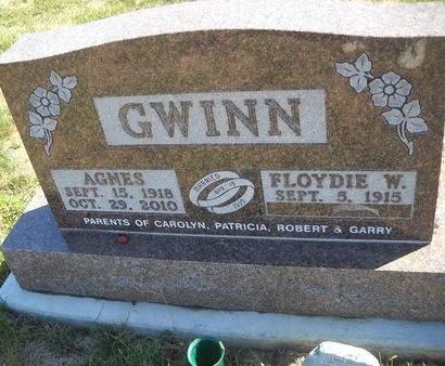 FERRICK GWINN, AGNES - Lucas County, Iowa | AGNES FERRICK GWINN
