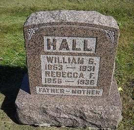 HALL, WILLIAM G - Lucas County, Iowa | WILLIAM G HALL