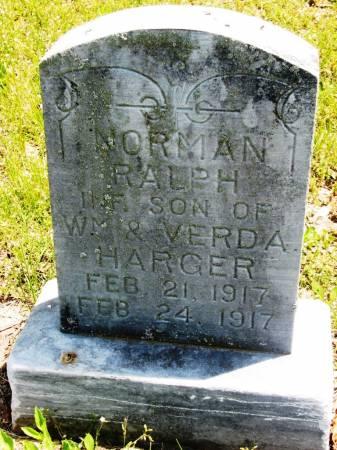 HARGER, NORMAN RALPH - Lucas County, Iowa | NORMAN RALPH HARGER