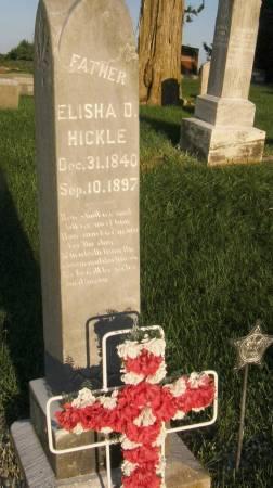 HICKLE, ELISHA D. - Lucas County, Iowa | ELISHA D. HICKLE