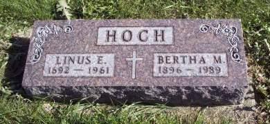 HOCH, LINUS E. - Lucas County, Iowa   LINUS E. HOCH