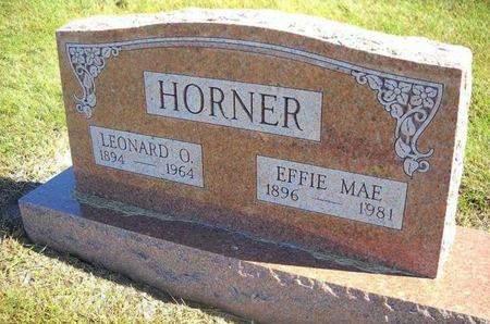 HORNER, LEONARD O - Lucas County, Iowa | LEONARD O HORNER