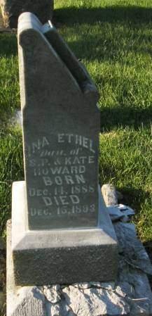 HOWARD, INA ETHEL - Lucas County, Iowa | INA ETHEL HOWARD