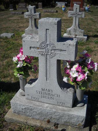 STEINBACH HUHN, MARY - Lucas County, Iowa | MARY STEINBACH HUHN