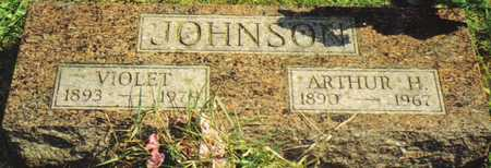 MATHEWS JOHNSON, VIOLET - Lucas County, Iowa | VIOLET MATHEWS JOHNSON