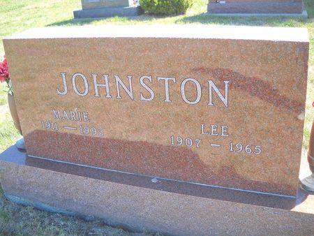 JOHNSTON, MARIE - Lucas County, Iowa | MARIE JOHNSTON