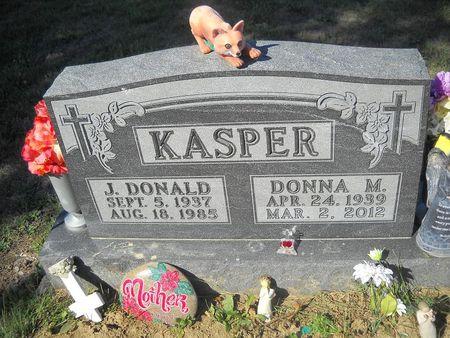 CRAWFORD KASPER, DONNA M - Lucas County, Iowa | DONNA M CRAWFORD KASPER