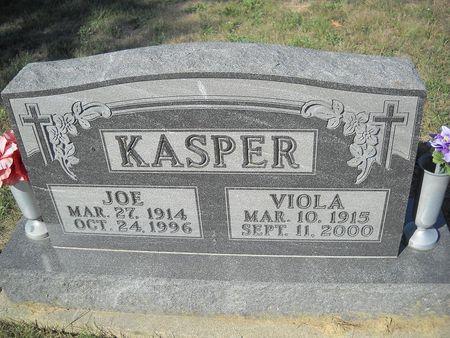 KASPER, JOSEPH